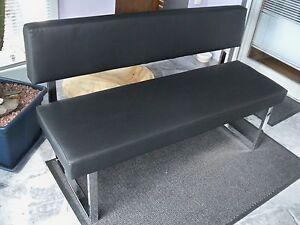 sitzbank mit lehne ebay. Black Bedroom Furniture Sets. Home Design Ideas