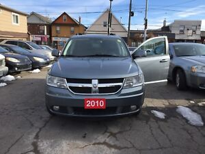 2010 DODGE JOURNEY SXT LEATHER INTERIOR, AS IS SPECIAL!