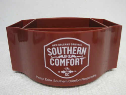 Southern Comfort New Orleans Plastic Maroon Bar Top Caddy-FAST SHIPPING!!