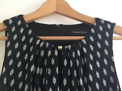 Ivanka Trump Black Sleeveless Dress - size Small, brand new