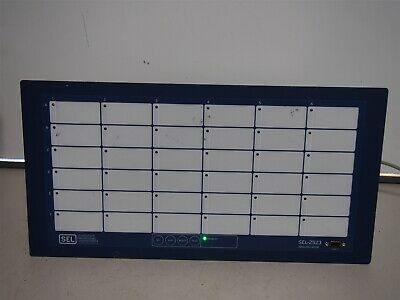 Sel Sel-2523 Annunciator Panel Alarm Monitoring Communication 2523013130xaxxx
