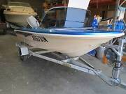 Fibreglass Runabout ready to go, fully serviced w/ Rego Seven Hills Blacktown Area Preview