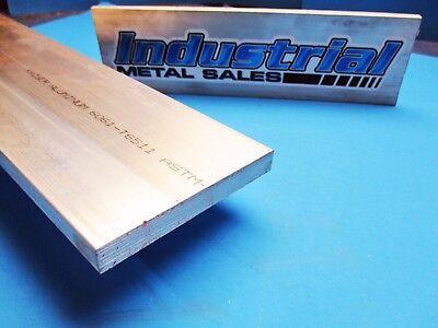 12 X 4 6061 T6511 Aluminum Flat Bar X 12-long--.500 X 4 6061 Mill Stock