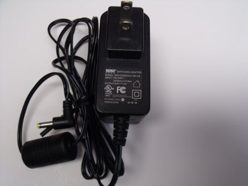 MOSO XKD-C2000IC9.0-18C-US Power Supply AC/DC Adaptor 9V - 2A Switching Adapter