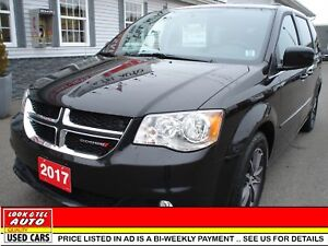 2017 Dodge Grand Caravan $28595 financed price - 0 down pymt* SX