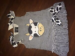 Size 1 cow dress Minden Somerset Area Preview