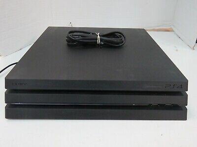 Sony PlayStation 4 Pro (CUH-7215B) (NO HDD) Gaming Console - Black (11)