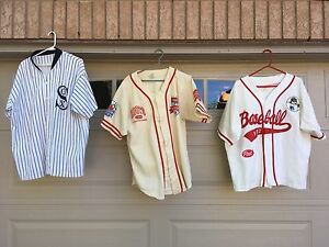Vintage Promotional Baseball Collectable Jerseys Man Cave