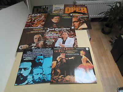 Schallplatten - Klassik - Vinyl - 10 Stück
