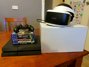 Ps4 500gb comes with 6  games and vr headset like new Whyalla Whyalla Area Preview