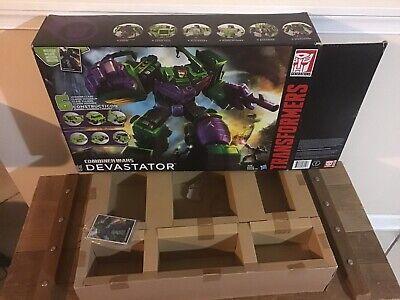 "Transformers 18"" Devastator BOX & INSERT & cARD ONLY Combiner Wars!"
