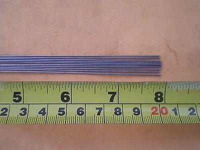 "100 LBS TEST TITANIUM LEADER CABLE 6 STRAND  0.032/"" X 24/"" LONG 10 PCS"