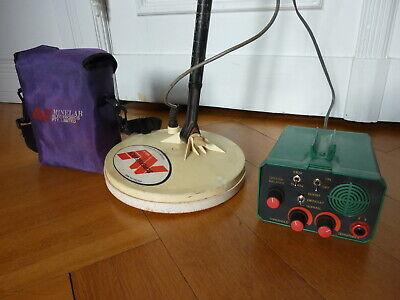 Vintage Australian Minelab Eureka Ace Metaldetektor