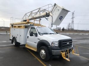 2006 Ford F 550 Work Truck.