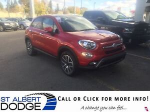2017 FIAT 500X Trekking AWD | LEATHER | SUNROOF | BACK CAM