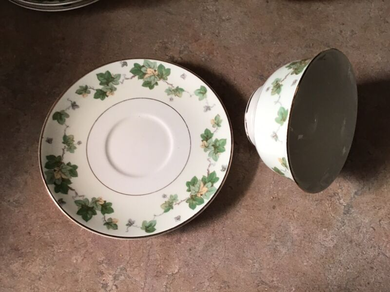Pope Gosser AMERICAN IVY Cup And Saucer Set