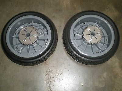 OEM Toro Super Recycler Cast Deck Lawnmower Rear Wheels   8