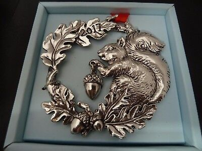 NEW IN BOX ARTHUR COURT SQUIRREL  2017 HOLIDAY CHRISTMAS ORNAMENT