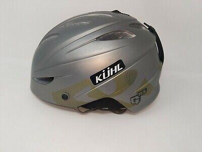 Giro G10 MX Snow Mens Adult Medium Ski Snowboard Helmet 55.5-59cm Titanium Green G10 Snow Helmet