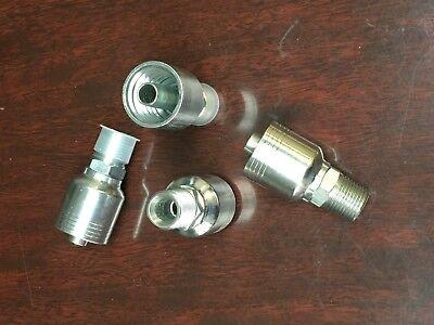 43008u-108 Weatherhead Style Hydraulic Hose Crimp Fitting