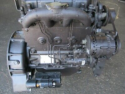 White Hercules D198er 4 Cylinder Diesel Engine D198erx51revo Gov. Rebuild