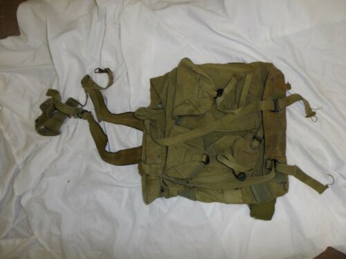L1T-6 Vietnam RVN US  X-Frame ruck sack backpack canvas web original