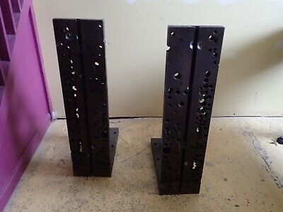 2 Pc Set 32 X 17-34 X 8 Wide Milling Right Angle Fixture Plate W 12 T-slot