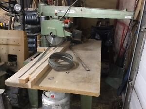 Industrial Radial Arm Saw