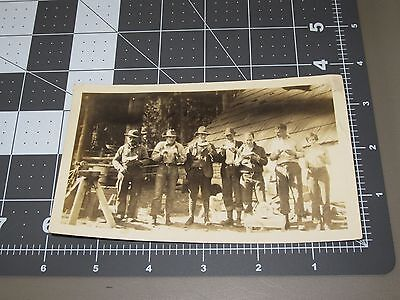 Aspen Carbondale CO Vintage Fire Camp 1930's Snapshot PHOTO #7