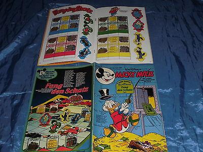 MICKY MAUS , 19.  August 1980 , Nr. 34 , Schatz - Spiel  # 1 , Disney Comics / A