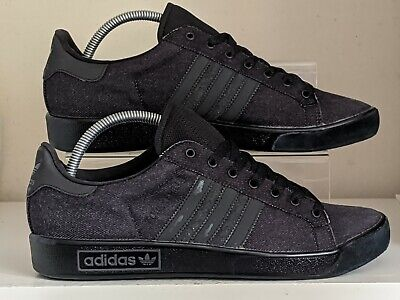 Adidas Forest Hills denim used trainers size 8 originals