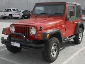 1998 Jeep Wrangler Sport (4x4) 5 Sp Manual 4x4 2d Soft-top