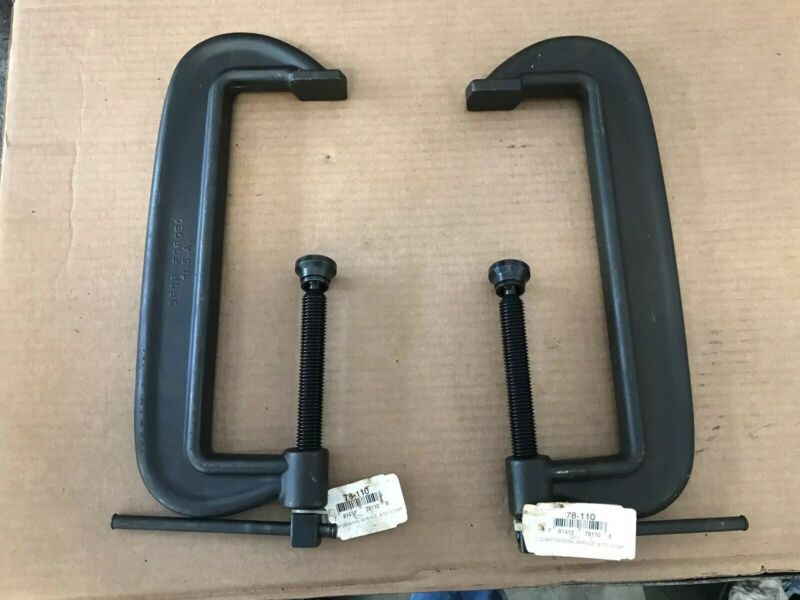 """(QTY 2) Armstrong 10"""" C-Clamp 78-110"""