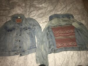 Levi's & American eagle jean jackets