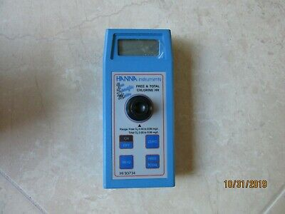 Hanna Instruments Free And Total Chlorine Meter