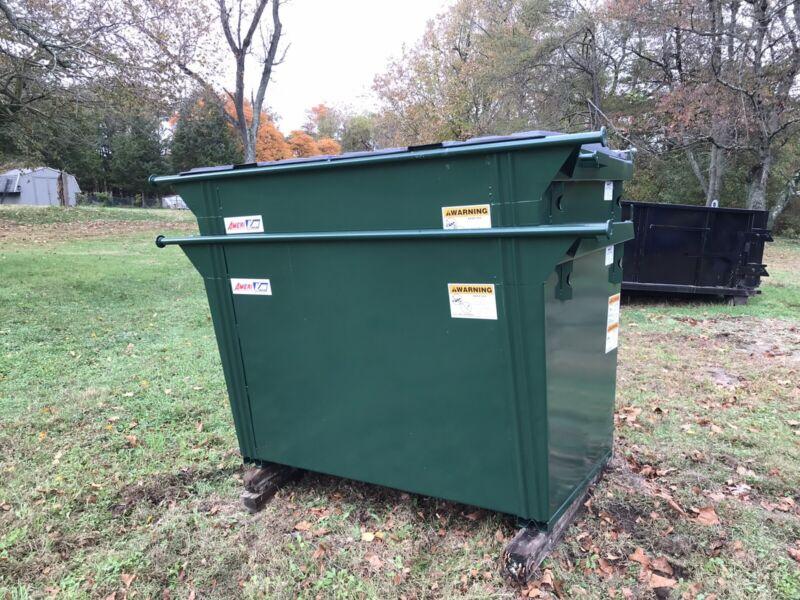 2 Cubic Yard Rear Load Dumpster Ameri-kan