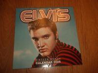 Elvis Presley Calendar 2006 ( Sixteen Month ) Excellent Condition -  - ebay.co.uk