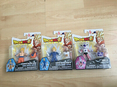 Dragon Ball Z Power Up Armor Pop Off Figure SUPER SAIYAN GOKU VEGETA FRIEZA