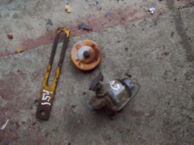 Ihc Cub 154 Tractor Ih Sediment Bowl Assembly Oil Gauge Generator Bracket