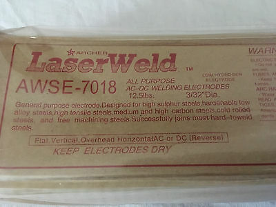 E7018 332 Dia 12.5 Lbs New Ac-dc Welding Electrodes Rods. 12.5 For 10 Price