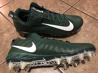 Nike Alpha Menace Pro Low TD Football Cleats Green White 922804-313 Size 13  NWOB 3db1c61ca