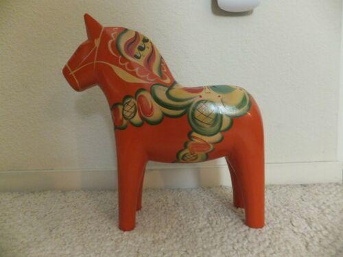 DALA HORSE VINTAGE EX-LARGE 12 INCH (AKTA HEMSLOJD) >NILS OLSSON -NUSNAS< RARE