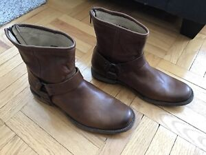 Frye Phillip Harness Boots - New!