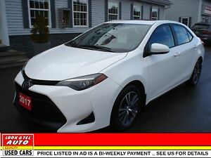 2017 Toyota Corolla $18995.00 WITH 2 K DOWN OR  TRADE-IN* LE