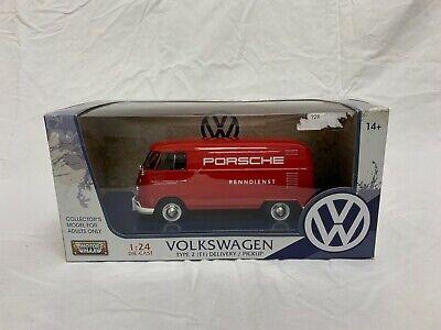 Motor Max Volkswagen Type 2 T1 delivery / pickup Porsche Renndienst