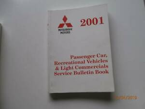 Mitsubishi Service Bulletins 2001 Tarago Goulburn City Preview