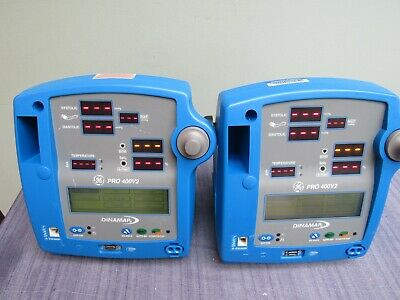 Ge Dinamap Pro 400v2 Patient Monitor 4 Available And All Are Guaranteed