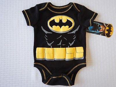 Batman Justice League DC Comics Infant Baby Toddler Boys Creeper Bodysuit ()