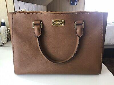 Michael Kors Brown Satchel Handbag Leather