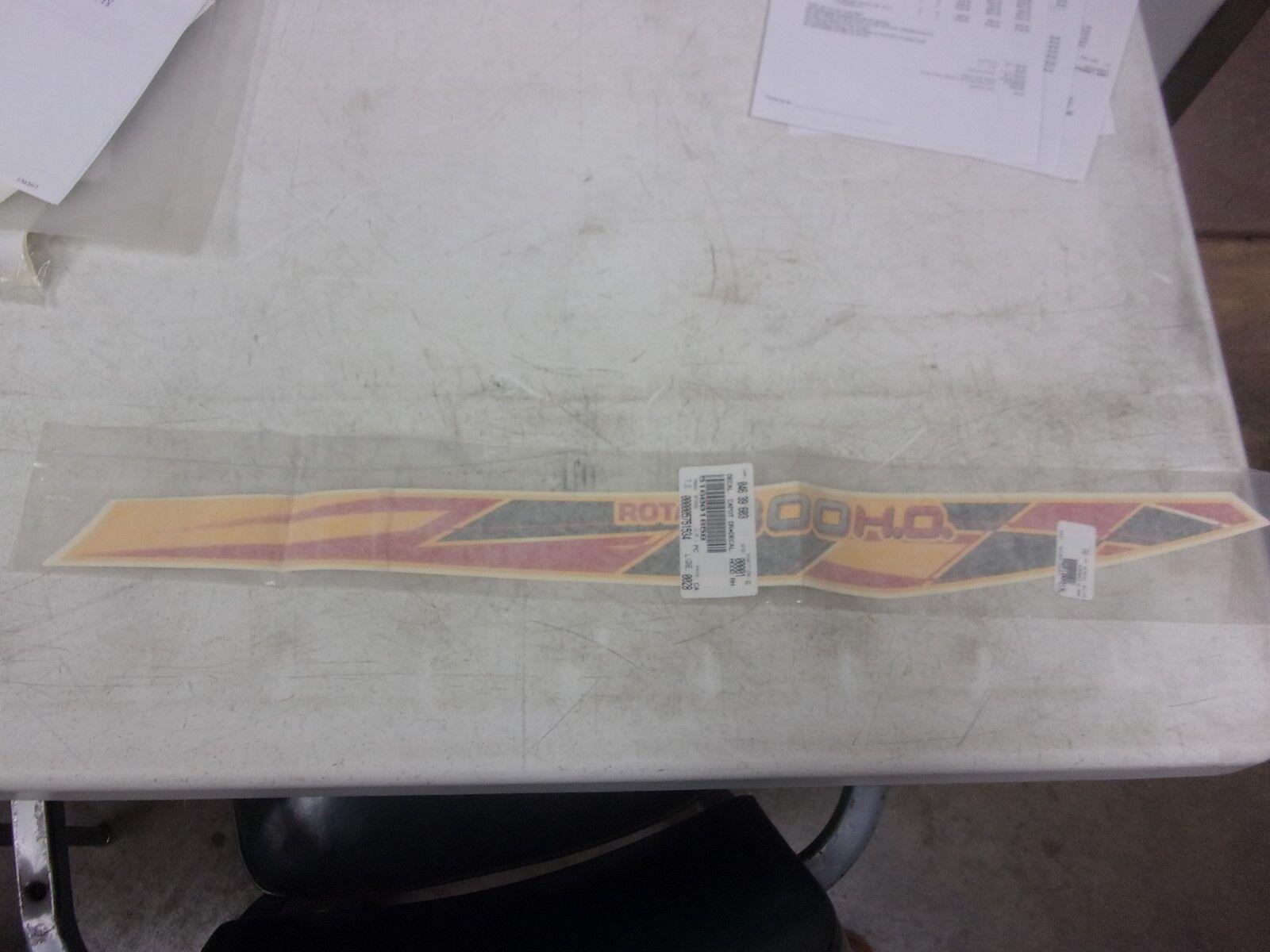 Ski-doo Snowmobile RH Hood Decal 800 HO 516001858